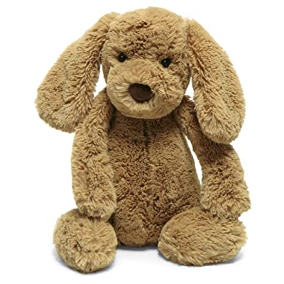 Jellycat Bashful Toffee Puppy Stuffed Animal, Medium, 12 inches: Toys & Games [5Bkhe0411164]