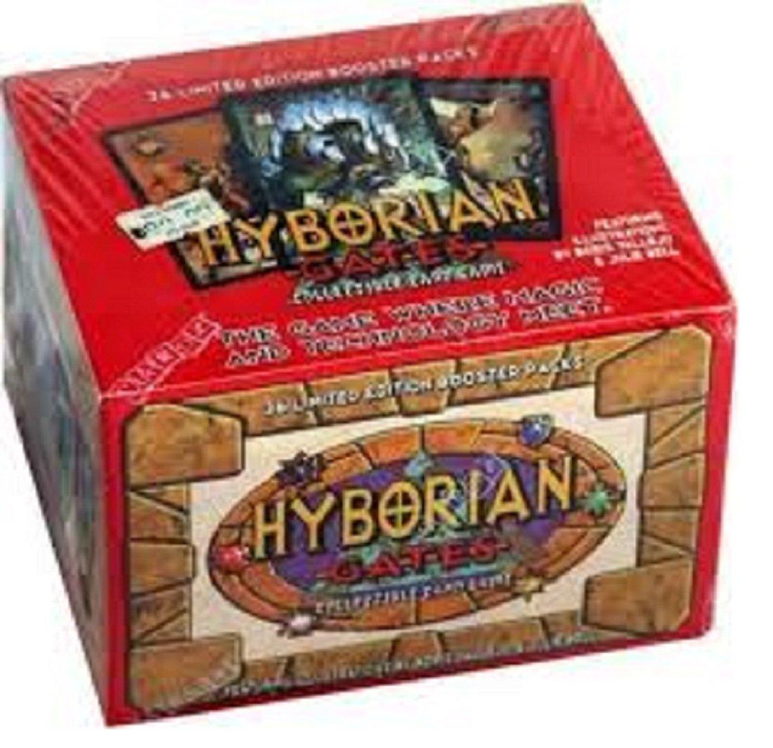 ¡no ser extrañado! hyborian gates collectible card game booster box box box  los últimos modelos