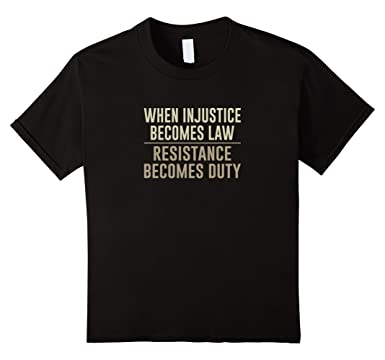 Amazon.com: When Injustice Becomes Law - Resistance Becomes Duty ...