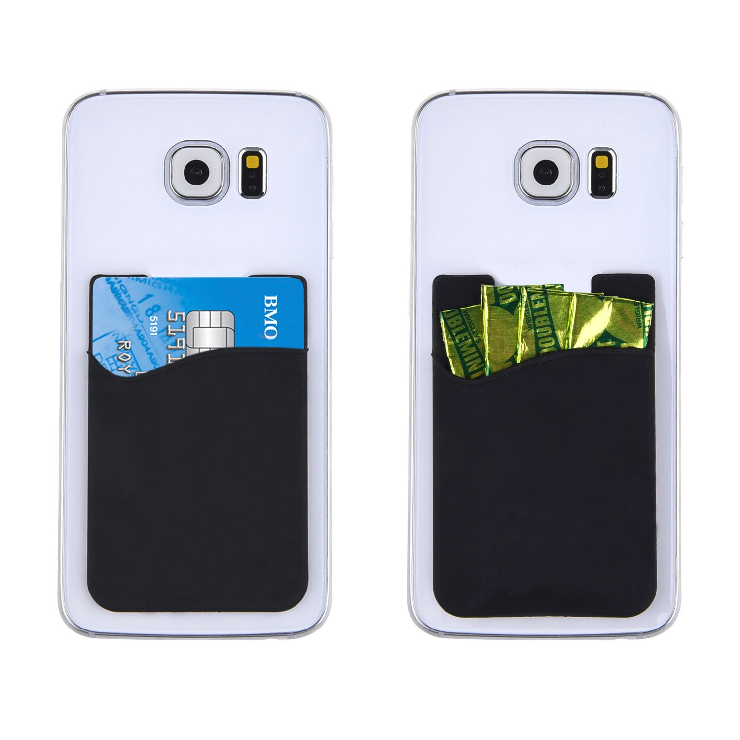 amazon com credit card id card holder can be attached to almost rh amazon com