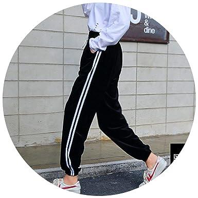 Amazon.com: Closer-to-U - Pantalones de invierno con cintura ...