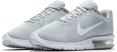 2d855e370ccb8a Image Unavailable. Image not available for. Color  Nike Air Max Sequent 2  Pure ...