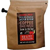 Trader Joe's Pour Over Brazil Coffee Brewer in the Bag (Pack of 6)