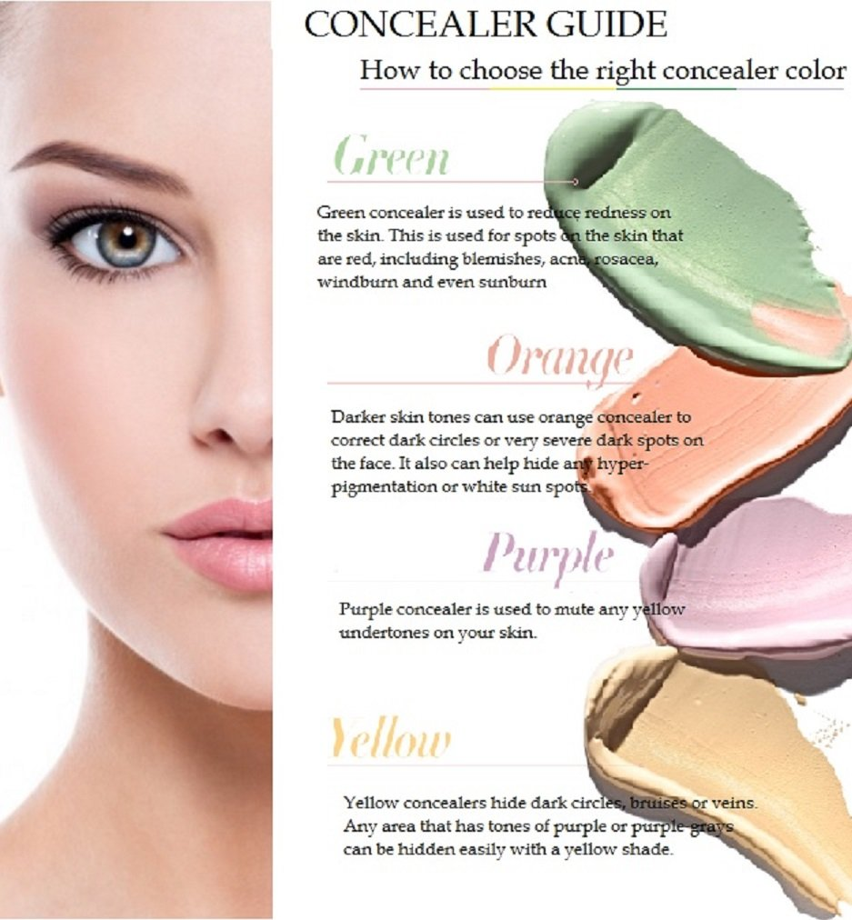 Amazon Concealer Eyebrow Duo 24 Colors Makeup Beauty Kit