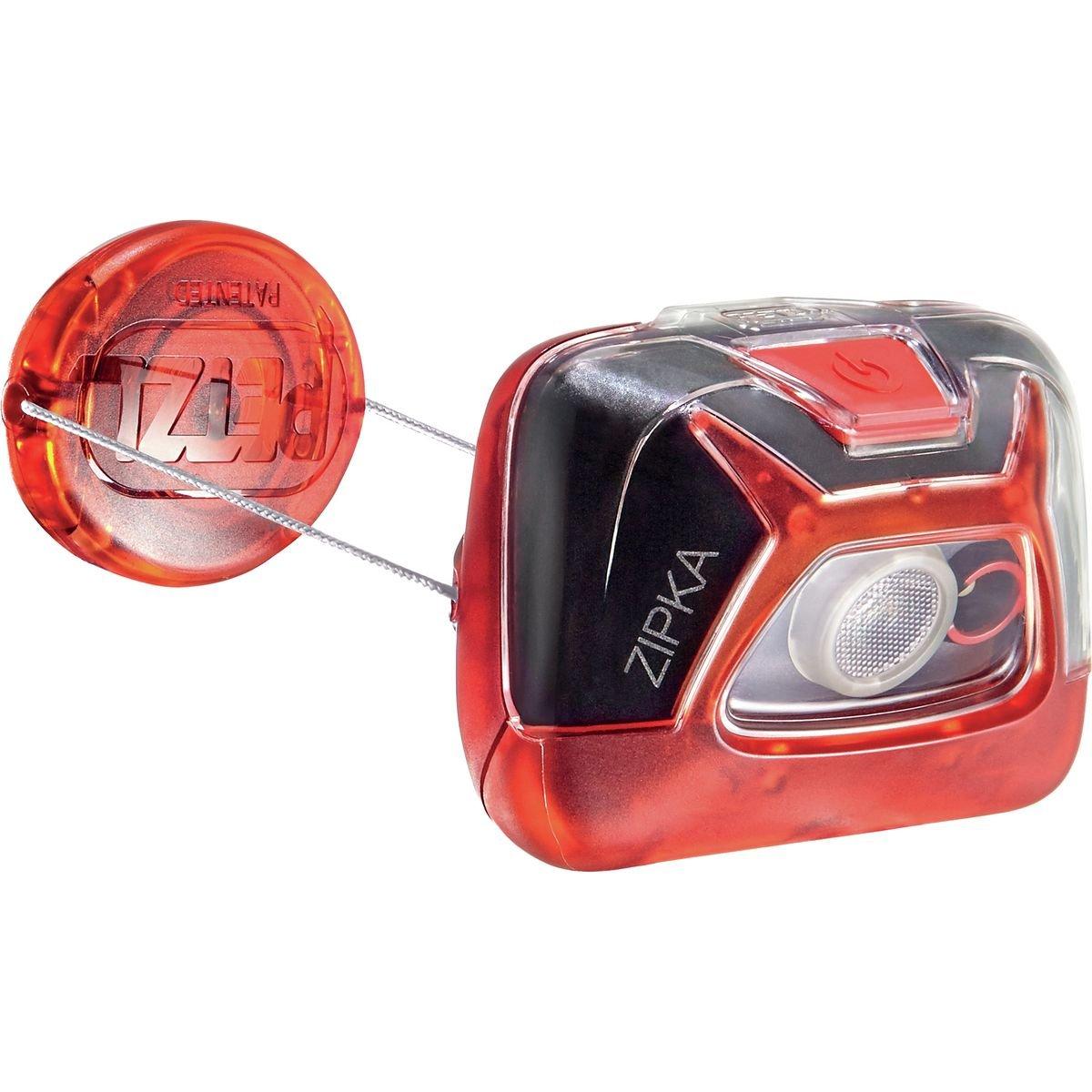 Petzl Zipka Headlamp Petzl Zipka Headlamp - Black One Size E93ABA
