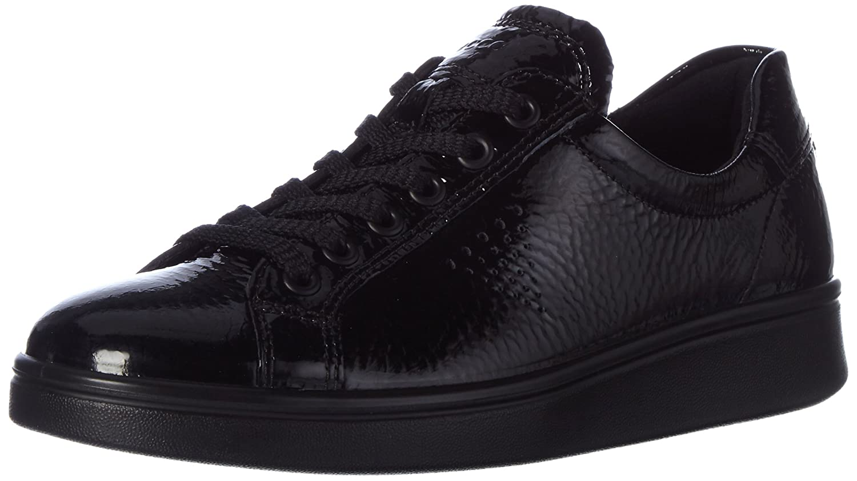 ECCO Soft 4, Zapatillas Para Mujer 38 EU|Negro (Black)