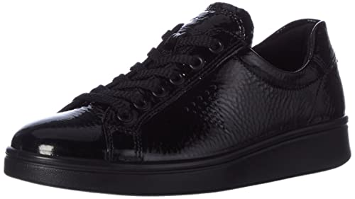Ecco Damen Soft 4 Derby Schwarz 50669BLACKWHITE