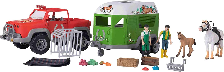 Play tive Junior Pick up mit Pferdeanhänger Spielzeug Auto