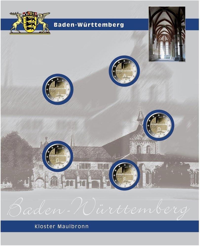 セーフ7821 – 8 Einzelblatt 2バーデンヴュルテンベルクユーロ