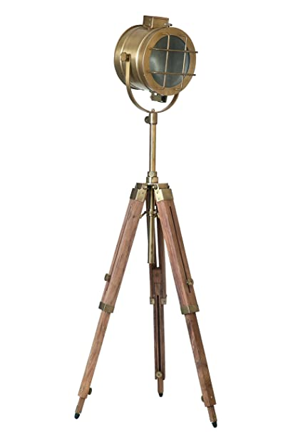 LightenUP Contemporary Antique Tripod Lamp Standing Lights at amazon