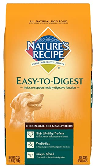 Amazon natures recipe easy to digest dry dog food chicken natures recipe easy to digest dry dog food chicken meal rice barley recipe forumfinder Gallery