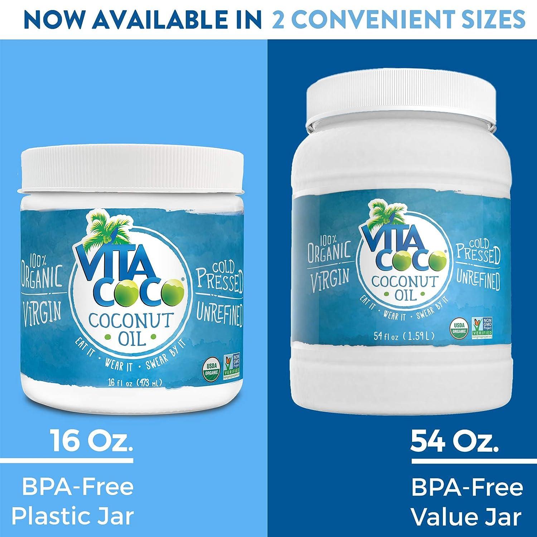 Coconut Oil - VitaCoCo oureczemastory.com