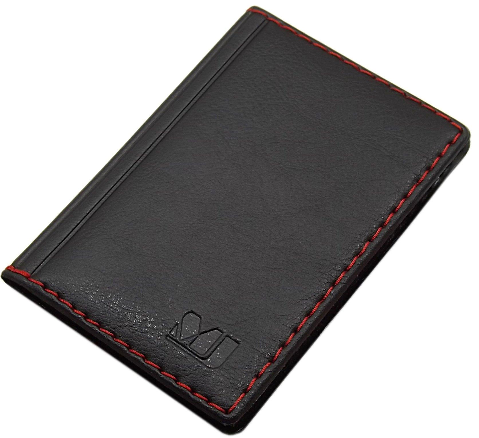 Elegante tarjetero para tarjeta de crédito y tarjeta de visita en varios colores y diseños (