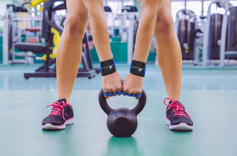 Barre de Traction Maniques Hommes Femmes Halterophilie Neotrive Gants de Musculation Crossfit Fitness
