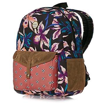 43bb82b1c5 Roxy Backpack Caribbean J Multi-Coloured True Black Maui Lights Size:40.5 x  30.5