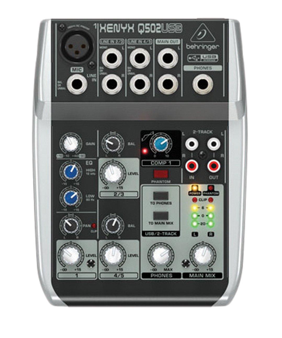 table de mixage xenyx 502 usb