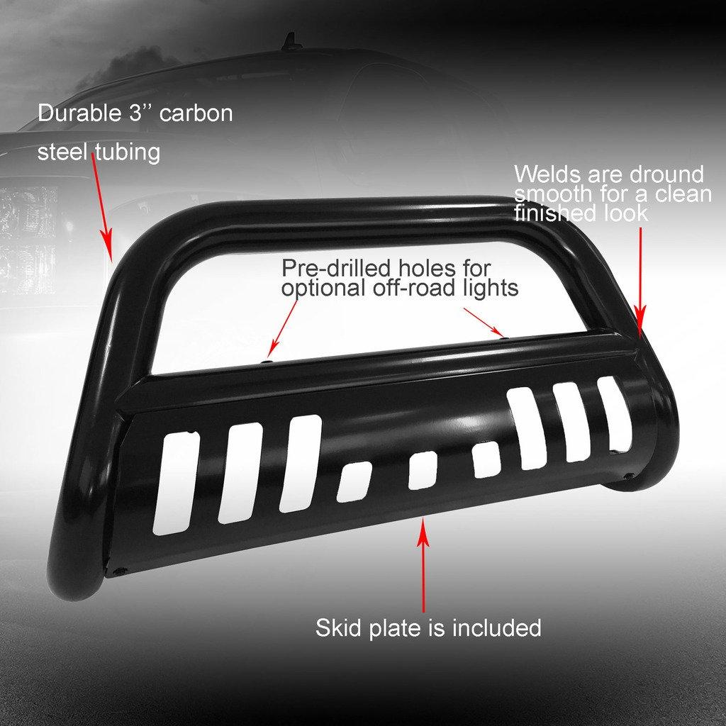 VioGi Fit 09-16 Dodge Ram 1500 3 Tube S//S Bull Bar Brush Push Bumper Grille Grill Guard