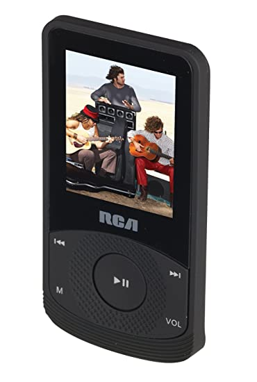 RCA M6504 4 GB Video MP3 Player with 1 8 inch Color Display, Earbuds,  Built-In Rechargeable Battery, FM Radio, Voice Recorder, Includes USB Cable