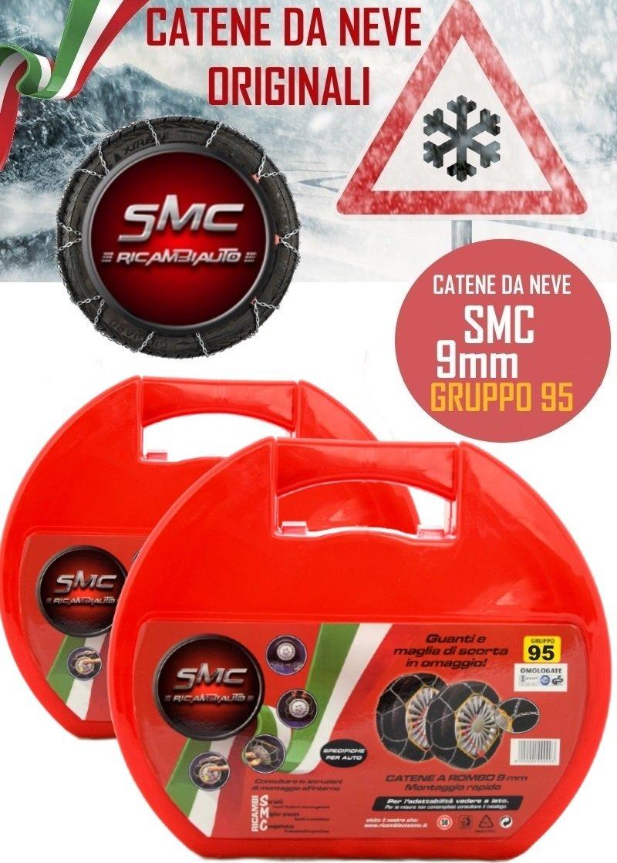 Schneeketten SMC Ö-Norm 5117 TÜV 9mm 215//65 R 15 GRUPPE 95