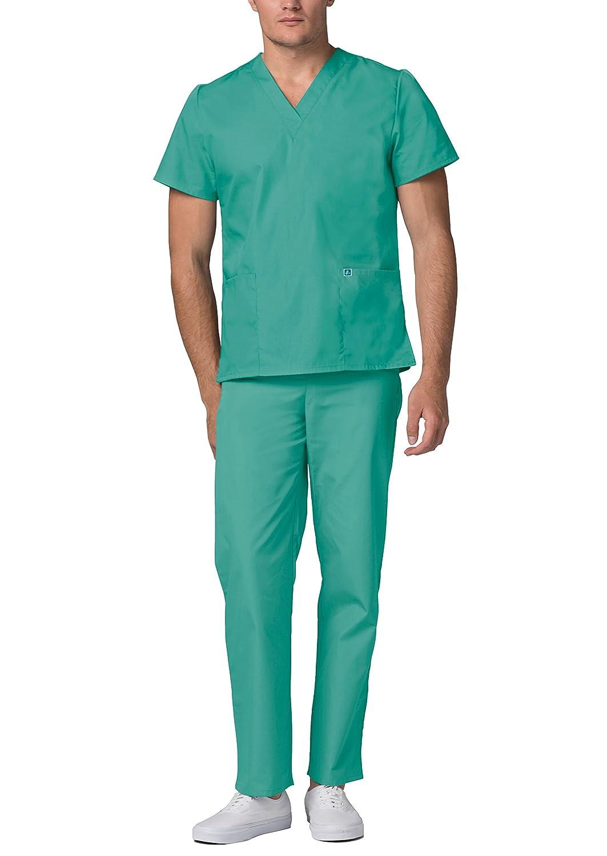 Adar Unisex-Schrubb-Set - Medizinische Uniform mit Oberteil und Hose B00GHULKOC B00GHULKOC B00GHULKOC Medizin Neuankömmling 552213