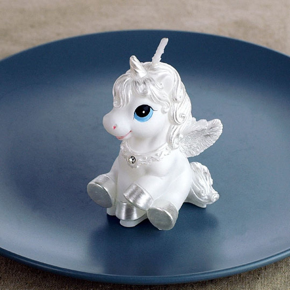 Cartoon Zodiac Pegasus / Unicorn / Horse Charming Gifts Party Candles Smokeless Candles Birthday Candles for Baby Shower and Wedding Favor Keepsake Favor (5)