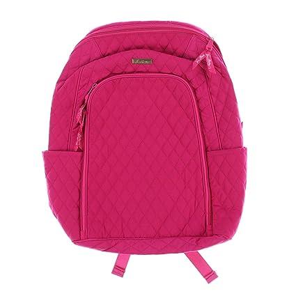 Amazon.com  Vera Bradley Laptop Backpack (Fuschia)  Computers   Accessories 8539418d0c766
