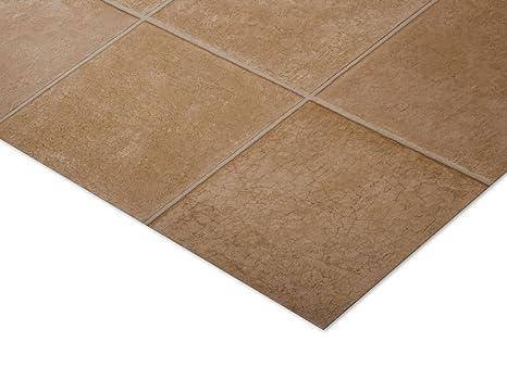 Casa pura® malaga pietra piastrella pavimento in vinile effetto 2