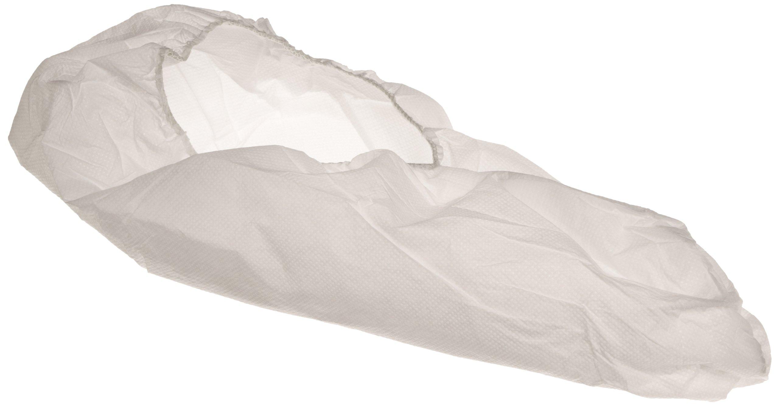 Keystone SC-SS-LG Polypropylene Super Sticky Shoe Cover with Great Non-Skid Bottom, Large, White (Case of 300) by Keystone (Image #1)