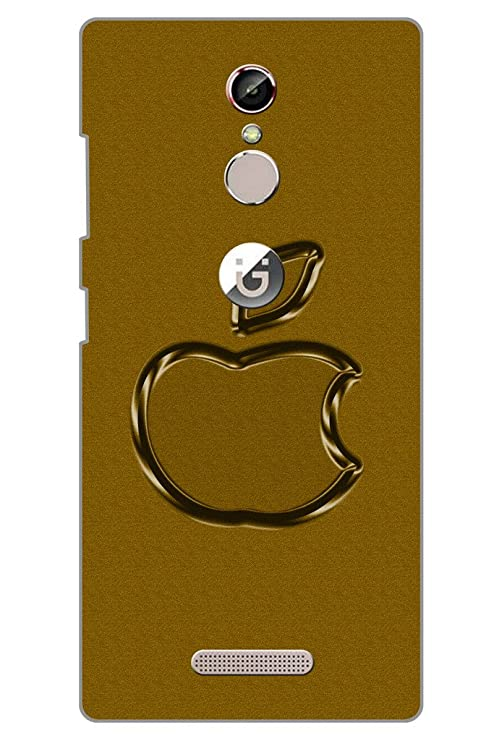 best service beadc 157d3 AMAN Apple Logo 3D Back Cover for Gionee S6s: Amazon.in: Electronics