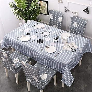Exceptionnel JITIAN Nappe Rectangulaire Polyester Anti Dirty Nappe Géométrique Imprimer  Couverture De Table Pour Banquet Hôtel