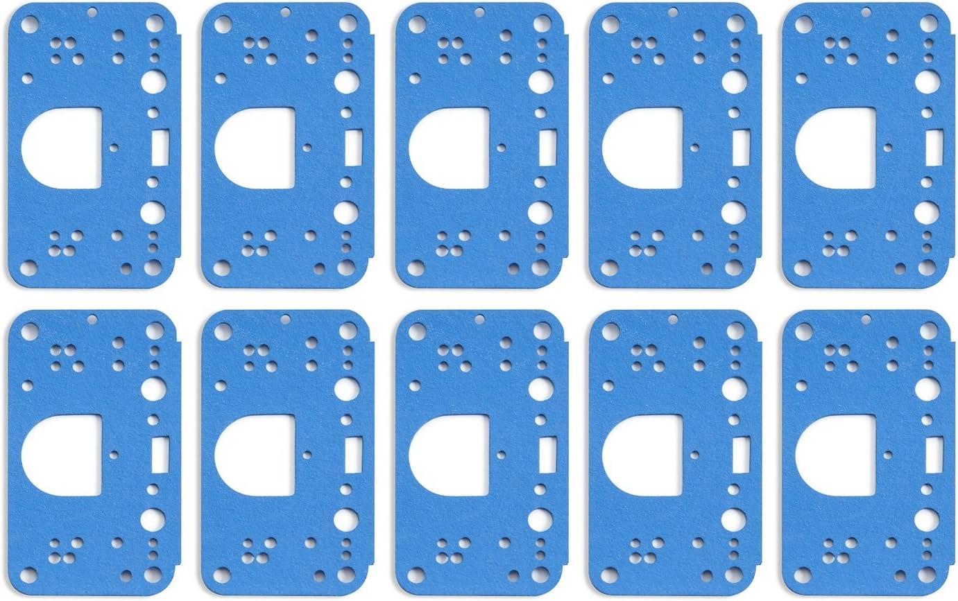 Holley Metering Block Gaskets 3 Circuit 10Pk