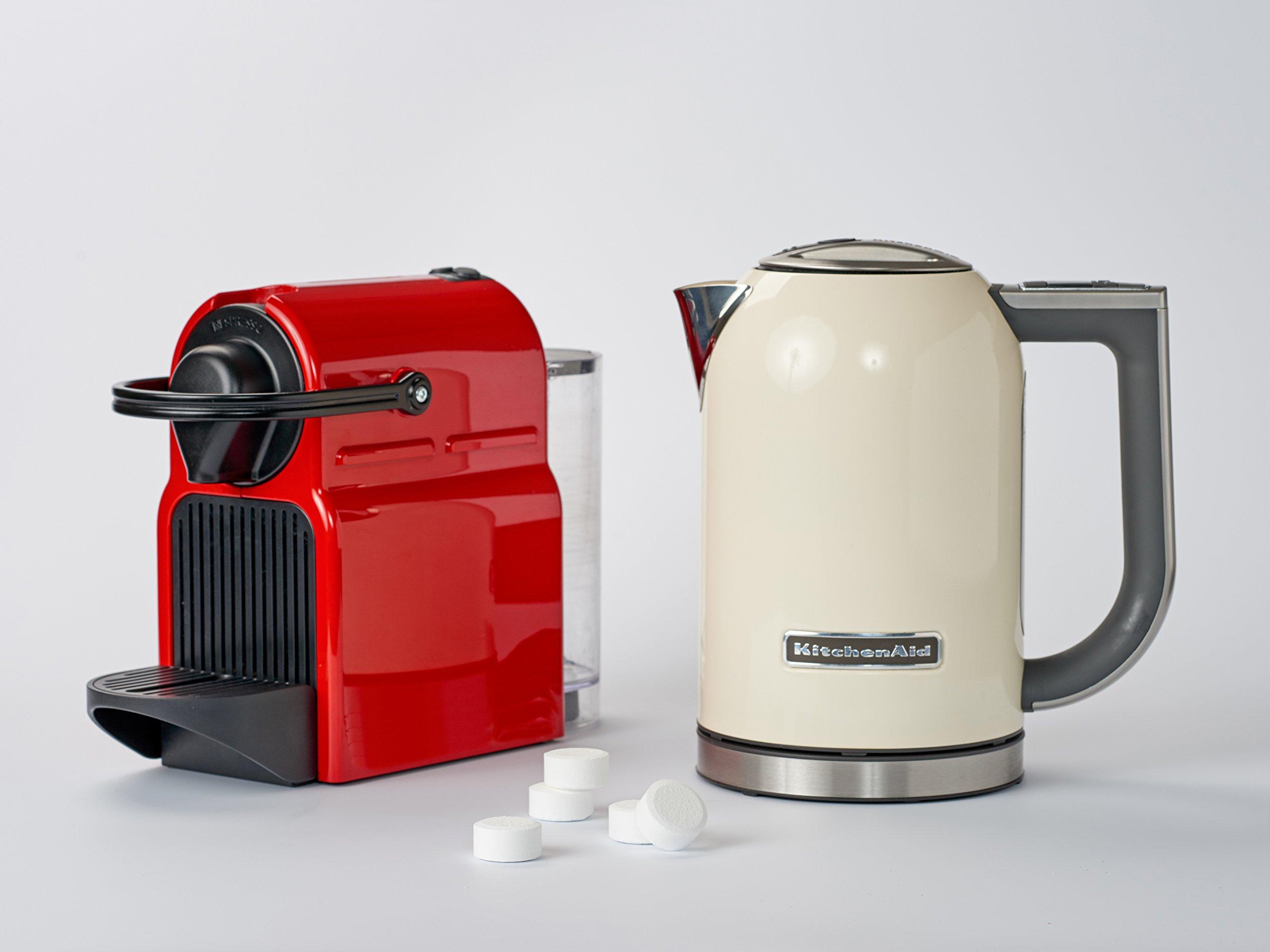 Culiclean 18 Stück Entkalkungstabletten (Entkalker-Tabs) Für Kaffee-Maschine, Kaffeevollautomaten, Haushaltsgeräte Und Wasserkocher – Kompatibel Mit Saeco, Jura, Tassimo, Bosch, Siemens, DeLonghi, WMF Und Vielen Anderen