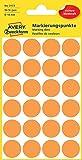 Avery Zweckform 3173repères (96pièces, Ø 18mm) 4feuilles leuchtorange