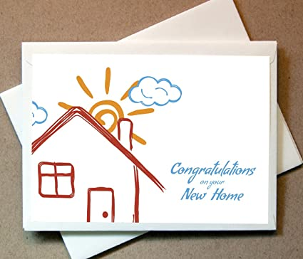 Amazon housewarming greeting card for housewarming gift 12 housewarming greeting card for housewarming gift 12 cards and blank envelopes m4hsunfo