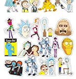 VOSTE Rick Morty Cute Cartoon Stickers 100 Morty