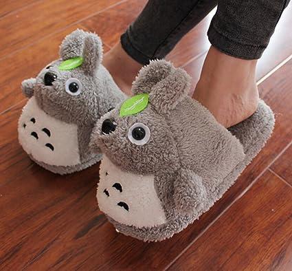 7f8a2b2e0ded Amazon.com  Etrony Women s Soft Plush Home Slippers Animal Slippers ...