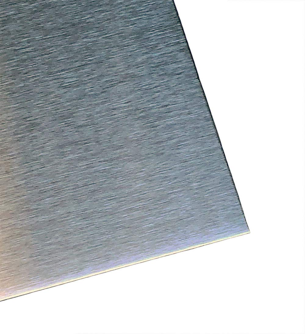 Amazon.com: 304 Stainless Steel Sheet Metal 0.025