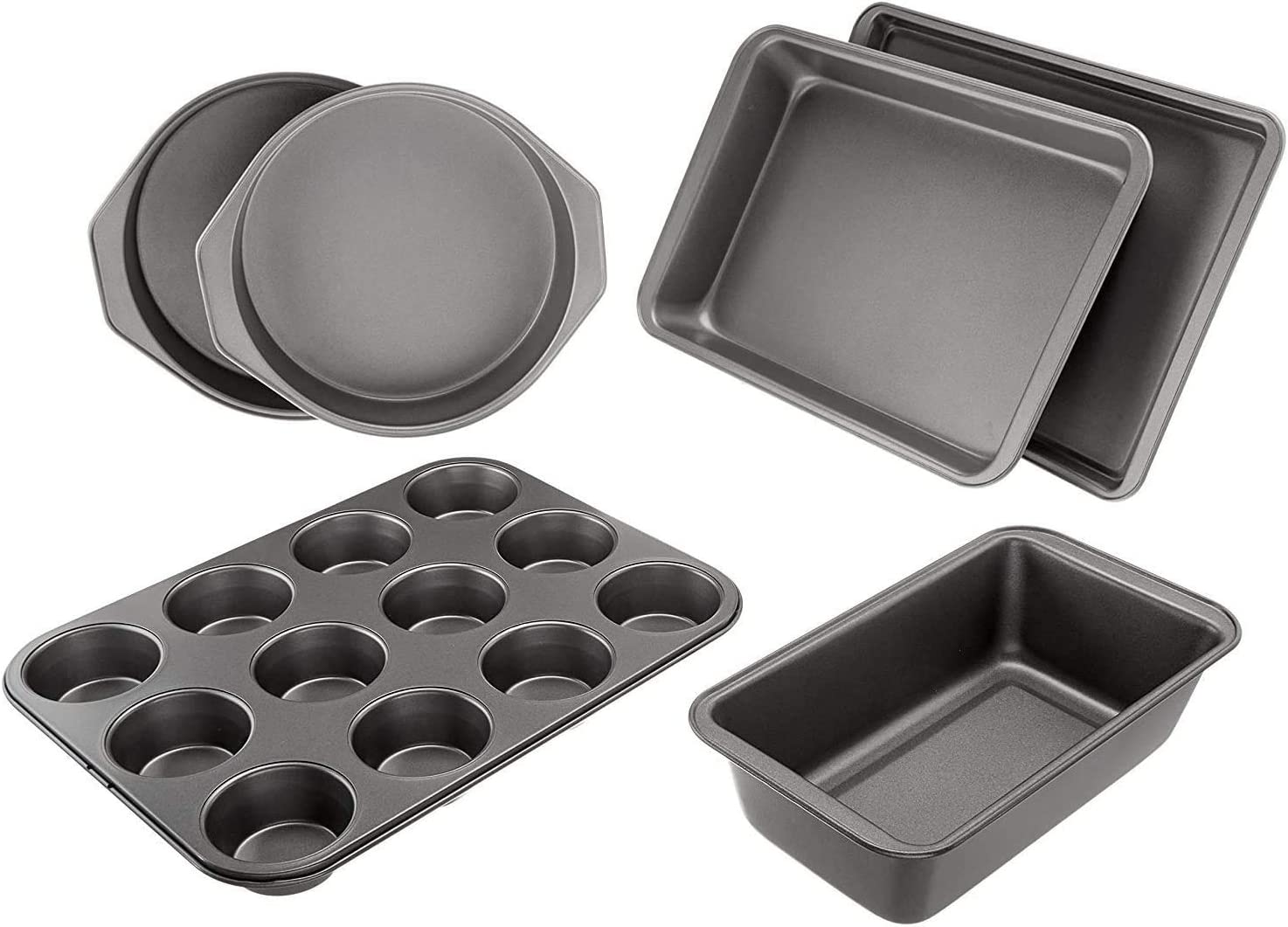 6-Piece Nonstick Oven Bakeware Baking Set