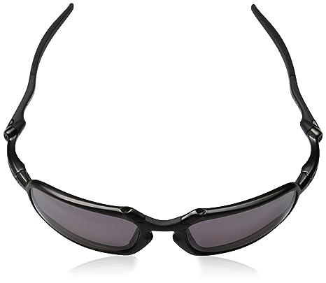 586f7d29d0 Amazon.com  Oakley Mens Badman Iconic Sunglasses One Size Dark Carbon Prizm  Daily Polarized  Oakley  Clothing