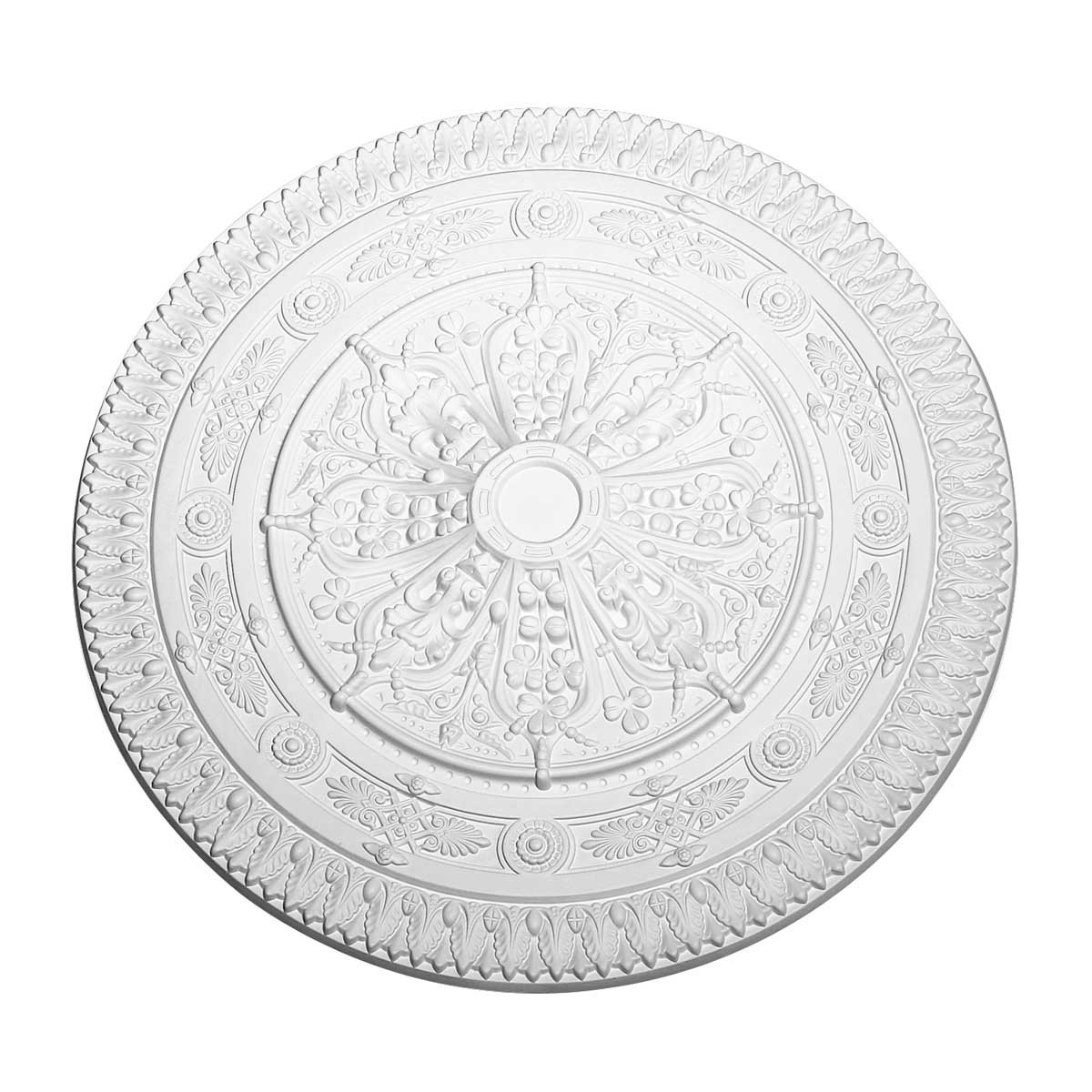 Ceiling Medallions White Urethane Ceiling Medallion 38'' Dia by Renovator's Supply