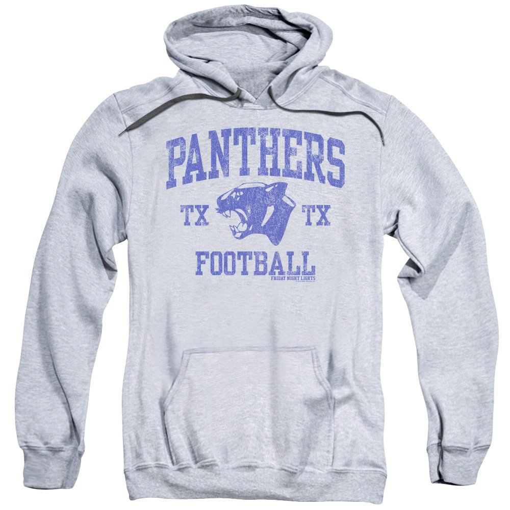 Friday Night Lights TV Series Panther Arch Adult Pull-Over Hoodie Trevco