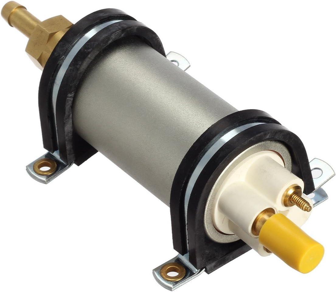 gasolina di/ésel HEP02A 2,5 Bomba de combustible el/éctrica universal CarBole de 12 V de lat/ón 4 PSI bomba de combustible en l/ínea de baja presi/ón