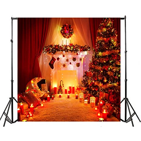 amazon com christmas photography backdrops yeele 9 6 ft hd vinyl