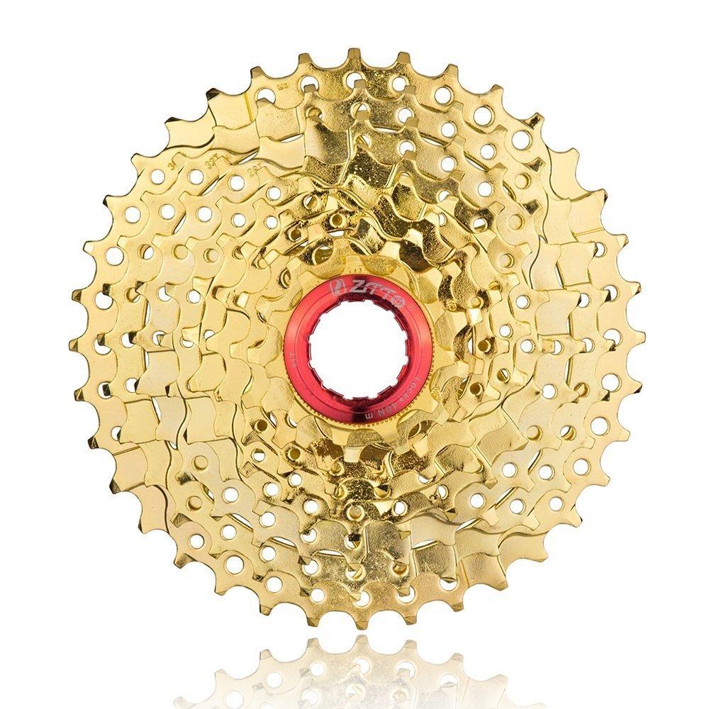 Piezas de bicicleta cassette 9 velocidad dorada11 - 36T - ZTTO