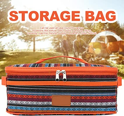 Bolsa de almacenamiento para utensilios de acampada ...