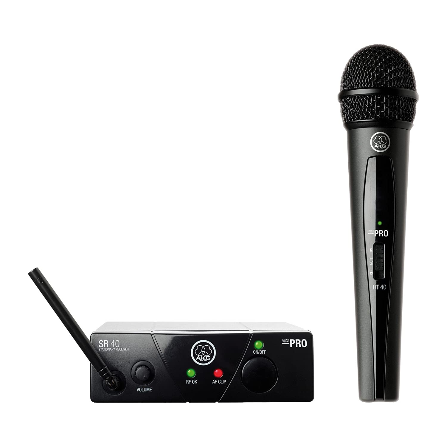 Mic Wireless AKG WMS 40 Mini Vocal Set US45B WMS40MINI Vocal Set BD US25B