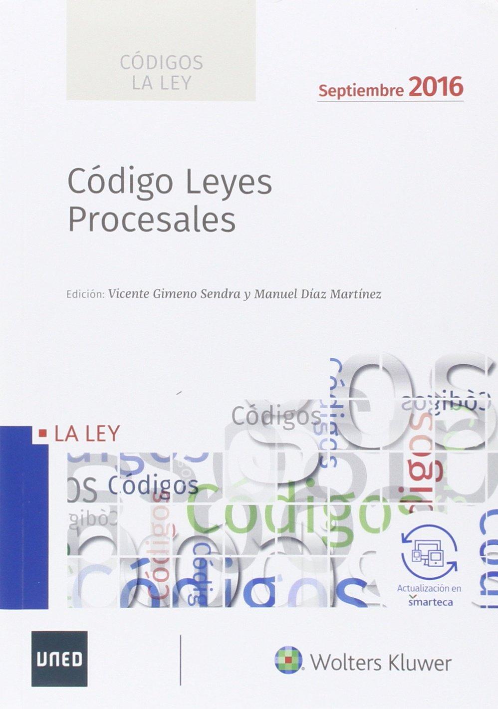 Códigos La LEY: Código de Leyes Procesales 2016: Amazon.es: Aa.Vv.: Libros