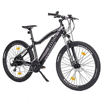 bicicleta eléctrica fitifito Copenhagen 27,5 pulgadas E-bike ,36v 250w,negro