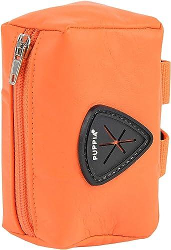 Puppia Jax Waste Bag Dispenser, Orange, One Size