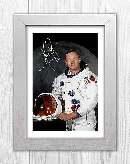 Amazon.com: Engravia Digital Neil Armstrong 1 SP - Signed Autograph ...